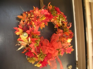 Our Fall Wreath