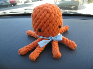 Elton the Octopus Toy